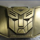 Unique quality real leather Transformers buckle with an oil lighter