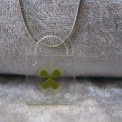 Four Leaf Clover necklace Handmade Saint Patrick Irish shamrock 4 Four Leaf Lucky Clover