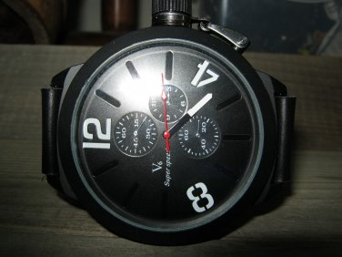 Mens Leather watch,Chronograph watch for men,masculine watch,mens watches,gift for men