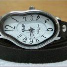 Women wrist watch,Bracelet wrap Watch Elegant Wave Wavy Time Warp Wrap Dali Fluid Watch