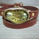 Custom Watch, Leather Watches For Women, Wrist Watch Woman, Watches For Women, Brown Leather Watch