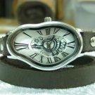 Watch Roman Numbers Design Salvador Dali Watch,Wrist Leather Watch,Women's Watches