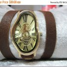 Womens watch, Wrap strap watch, Stylish stainless steel watch, Ladies watch, Gift for her