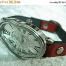 Leather Watches For Women, Watches For Girls, Leather Watch Cuff, Double Strap Watch, Watch Leather