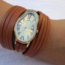 Melting Softwatch,Melting Clock,warped wrist watch, liquid watch,bracelet,Dali watch,waves watch