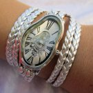 Melting Softwatch,Melting Clock,warped wrist watch, liquid watch,bracelet,Dali watch,waves watch