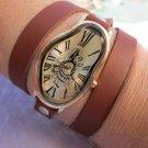 First Explosion Watch, Melting Watches Clocks Warped Watch,Women wrist watch,SoftWatch,Soft Watch