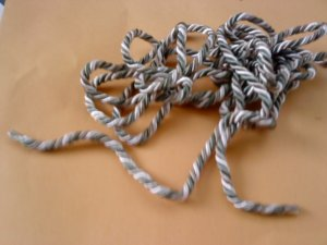 """1/4"""" Beautiful handmade Cords  IS approximately 1/4"""" diameter"""
