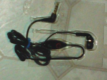 NEW  3.5mm 4 Pol Single Ear Hands free Headset Earphone w/ Microphone