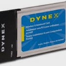 Dynex G Wireless 802.11g DX-WGNBC MXF-P950529G & MXF-P950602G Notebook Card