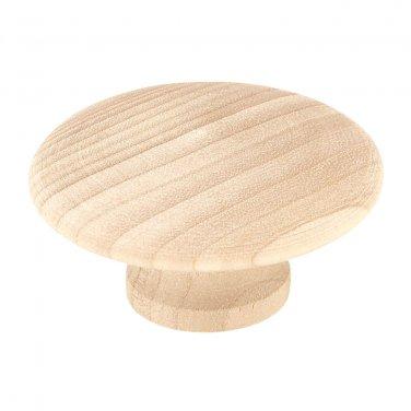 1 Liberty P10512CBIRCC 1 1/4''  Round Wood   Cabinet/Drawer Knob  Pull