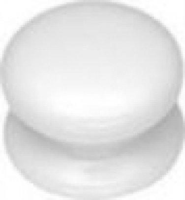Belwith #P6107-W White Porcelain KNOB
