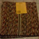 "2 Rectangle  Multi-Color  Braided Reversible Rug 24"" x 45"""