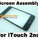 Touch Digitizer Screen Plastic Bezel Frame Home Button Key Flex for iPod Touch 2nd Gen 8GB 16GB 32GB
