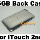 16GB Metal Back Housing Case Cover Shell for iPod Touch 2nd Gen