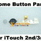 Home Button Key Flex with Metal Backplate for iPod Touch 3rd Gen 8GB 32GB 64GB