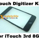 Touch Digitizer Glass Screen Plastic Bezel Frame Home Button Key Flex for iPod Touch 3rd Gen 8GB