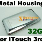 32GB Metal Back Housing Case Shell for iPod Touch 3rd Gen