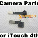 Front + Back Rear Camera Lens Flex Repair Parts for iPod Touch 4th Gen 8GB 32GB 64GB