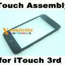 Touch Digitizer Screen Plastic Bezel Frame Home Button Key Flex for iPod Touch 3rd Gen 32GB 64GB