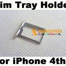 OEM Metal Sim Tray Sim Card Holder for iPhone 4th Gen 4G 16GB 32GB