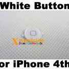 White Home Button Key for iPhone 4th Gen 4G 16GB 32GB