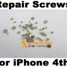 Full Set Screws kit Repair Replacement for iPhone 4th Gen 4G 16GB 32GB