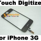 Black Touch Digitizer Glass Screen Faceplate for iPhone 2nd Gen 3G 8GB 16GB 32GB
