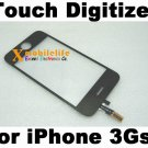Black Touch Digitizer Glass Screen Faceplate for iPhone 3rd Gen 3Gs 8GB 16GB 32GB