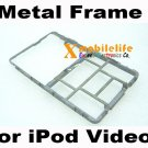 Metal Middle Bezel Chrome Frame Housing for iPod 5th Gen Video 30GB 60GB 80GB