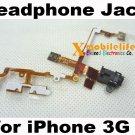 Black Headphone Audio Jack Flex Ribbon Cable for iPhone 2nd Gen 3G 8GB 16GB 32GB