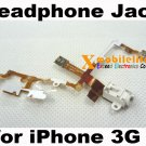 White Headphone Audio Jack Flex Ribbon Cable for iPhone 3rd Gen 3Gs 8GB 16GB 32GB