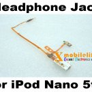 OEM White Headphone Audio Jack Flex Ribbon Cable for iPod Nano 5th Gen 8GB 16GB