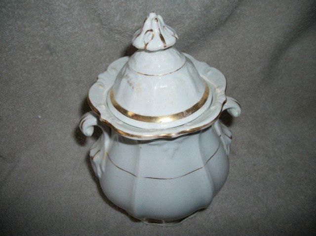 Vintage Porcelain Jug Sugar Bowl