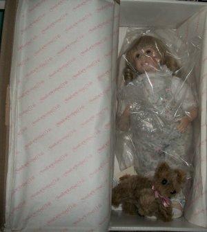 Jennifer Porcelain Doll heritage Collection COA