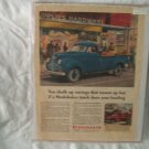 1947 Studebaker Trucks Print Ad