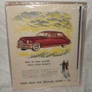1948 Packard Ad Original Eights