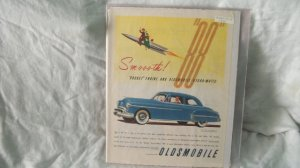 1950 Oldsmobile Rockett 88 Car Ad