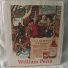 1947 William Penn Original Whiskey Print Ad