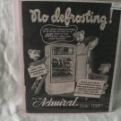 1947 Admiral Print Ad Original Advertising