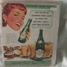 1948 Canada Dry Ginger Ale Print Ad