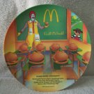 McDonalds Hamburg University Dinner Plate 1989