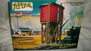 Atlas Vintage Water Tower Unbuilt Kit 703 HO