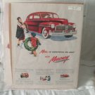 Mercury 1947 Print Ad