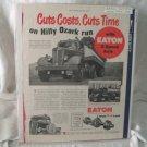 Eaton 1950 Print Ad 2 Speed Axles