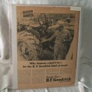 B.F. Goodrich 1948 Print Ad Tractor Tires
