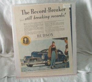 Hudson 1947 Print Ad