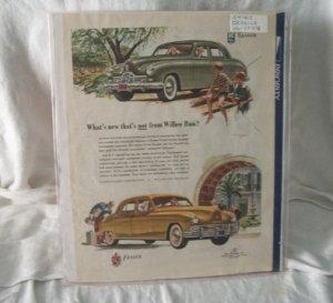 Kaiser Frazer 1948 Print Ad