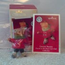 Hallmark Ornament Gracie Skates Fourth Snow Club 2002 MIB