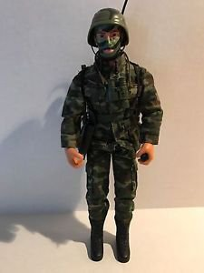Power Team Elite Camo Military Soldier Communications Nice